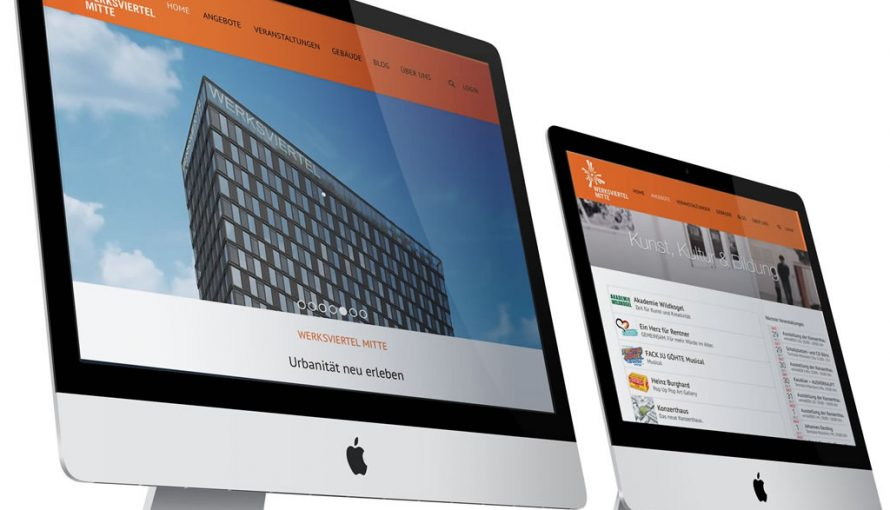 Werksviertel Mitte City Portal from SmarterCity Solutions